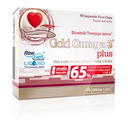 OLIMP Gold Omega 3 plus - 60caps