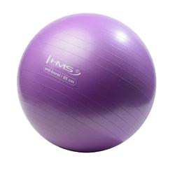 Piłka gimnastyczna anti-burst yb02 65 cm fioletowa - hms