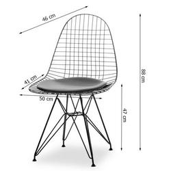 Krzesło tunis lv black loft