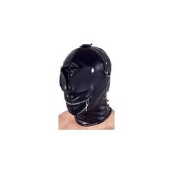 Lateksowa maska bdsm