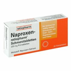 Naproxen ratiopharm Schmerztabl. Filmtabl.