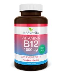 WITAMINA B12 metylokobalamina 1000 µg x 120 kapsułek