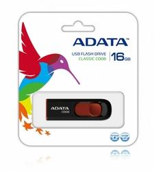 Adata DashDrive Classic C008 16GB USB2.0 czarno-czerwony