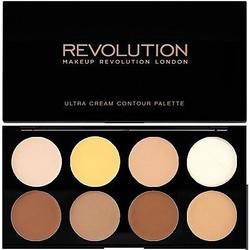 Makeup revolution cream contour palette do konturowania twarzy o kremowej konsystencji 13g