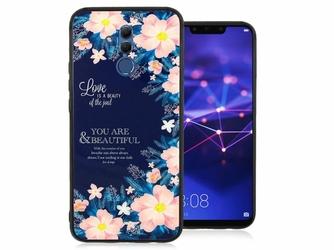 Etui Alogy Glass Armor Case do Huawei Mate 20 Lite Kwiaty + szkło Alogy - Kwiaty