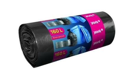 York, worki na śmieci 160l10szt
