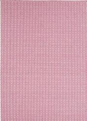 Dywan padlock pink 170x240 cm - różowy || kremowy