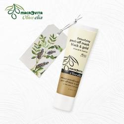 Macrovita olive-elia detoksykująca maska peel-off z aktywnym węglem i złotem 40ml