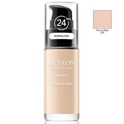 Colorstay podkład z pompką do skóry normalnej i suchej z kompleksem softflex 220 natural beige 30ml