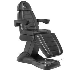 Fotel kosmetyczny elektr. lux czarny