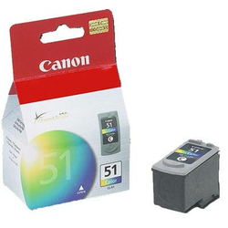 Tusz Oryginalny Canon CL-51 0618B001 Kolorowy - DARMOWA DOSTAWA w 24h