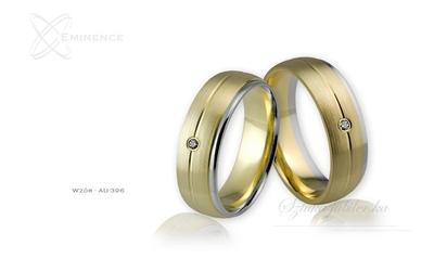 Obrączki ślubne - wzór au-396