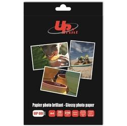 UPrint Glossy photopaper, foto papier, połysk, biały, A4, 230 gm2, 20 szt., atrament