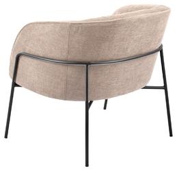 Wygodny fotel tapicerowany scandia 200 sand