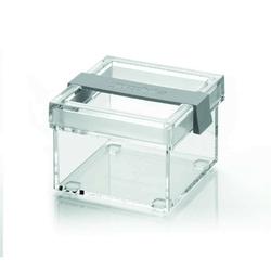 Guzzini - click  fresh - mały pojemnik s, szary - tworzywo sztuczne