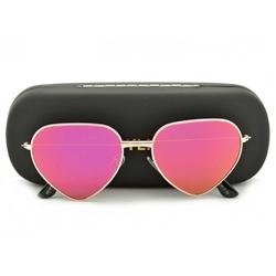 Okulary przeciwsłoneczne serca lustrzane str-488