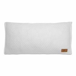 Babys Only, Robust White Poduszka z tkaną powłoczką, 60x30cm, biała