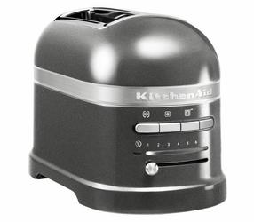 Toster na 2 kromki Artisan srebrzystopopielaty
