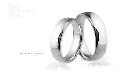 Obrączki ślubne - wzór au-819