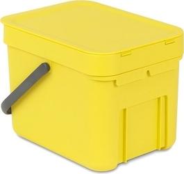 Kosz do segregacji odpadów sort  go 6 l żółty