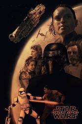 Star wars gwiezdne wojny przebudzenie mocy - plakat premium wymiar do wyboru: 61x91,5 cm