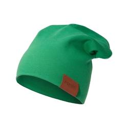 czapka podwójna zielona