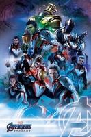Avengers: endgame quantum realm suits - plakat