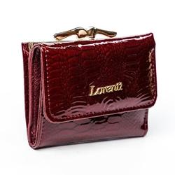 Portfel damski skórzany lorenti 55287-sn czerwony - czerwony