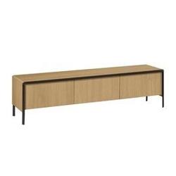 Drewniany szafka rtv naden 180x50cm
