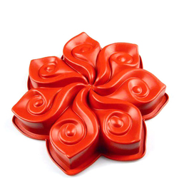 Forma do ciasta Calla Pavoni czerwona FRT007RSAS.2