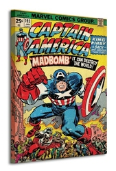 Captain america madbomb - obraz na płótnie
