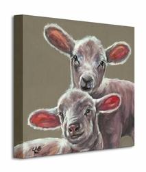 Spring Lambs - Obraz na płótnie