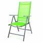 Krzesło składane - krzesło aluminiowe - zielone