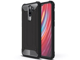Etui alogy hard armor do xiaomi redmi note 8 pro czarne
