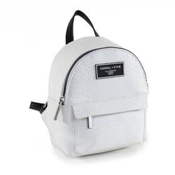 Plecak kendall+kylie lou mini backpack white snake - biały
