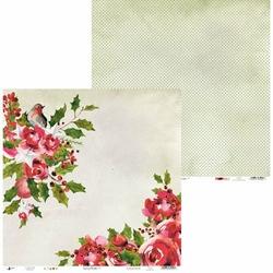 Papier świąteczny do scrapbookingu Rosy Cosy Christmas 30,5x30,5 cm - 01 - 01