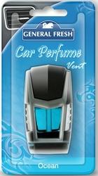 General Fresh, Car Perfume Vent, Ocean, odśweżacz samochodowy, 1 sztuka