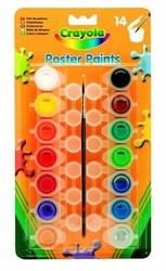 Farby plakatowe 14 szt