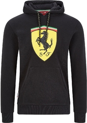 Bluza scuderia ferrari f1 czarna - czarny