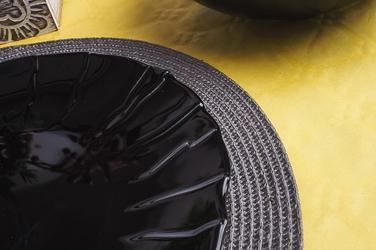 Lubiana sunny talerz płytki 28 cm czarny