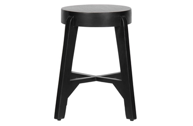 Woood stołek inca czarny 375723-z