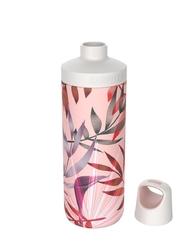 Butelka termiczna kambukka reno insulated 500 ml - trumpet flower - różowy || wielokolorowy