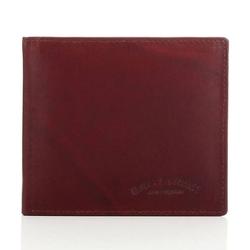 Brązowy męski portfel ze skóry naturalnej
