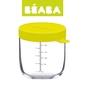 Beaba pojemnik słoiczek szklany z hermetycznym zamknięciem 250 ml neon