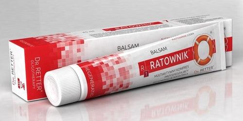Balsam ratownik r1 - regeneracja, odżywienie skóry 45 ml