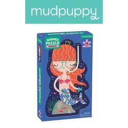 Mudpuppy puzzle w kształcie postaci syrenka 50 elementów 4+