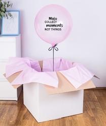 Balon z helem w pudełku - collect moments