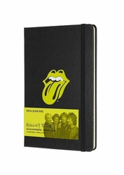 Notes Moleskine edycja limitowana Rolling Stones L czarny