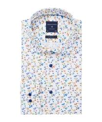 Wyjątkowa biała koszula profuomo slim fit w wiele kolorów 37