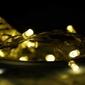 Lampki na baterie 30 led dekoracyjne na łańcuchu ciepłe białe
